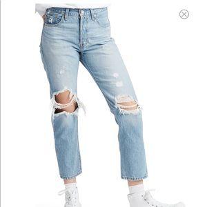 Levi's Original 501 High Rise Straight Leg